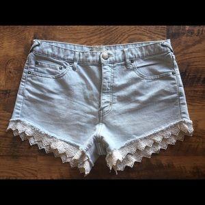Free People high waist shorts sz 29 VGUC